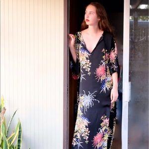 NWT Zara floral print caftan
